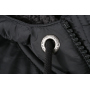 Men's Jacket Teddy Lined - antraciet melange/zwart
