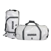Dunga Duffelbag XL White / Black