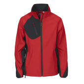 Projob 2423 SOFTSHELLJACKET LADY RED XXXL