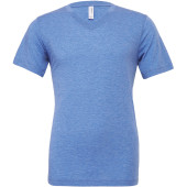 Unisex triblend short v-neck sleeve tee
