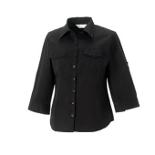 Ladies 3/4  Roll Sleeve Shirt
