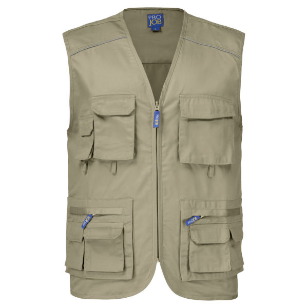 2803 FISHERMAN VEST RED XS