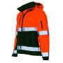 Softshell ISO20471 Bicolor 403007 Fluor Orange-Green XL