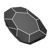 Xoopar Geo Mouse Plus Black
