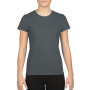 Gildan T-shirt Performance SS for her Charcoal M