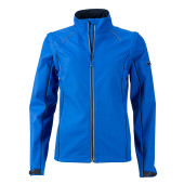 Ladies' Zip-Off Softshell Jacket - nautic-blauw/navy