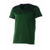 Joris T-Shirt V-Neck Green