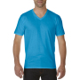 Gildan T-shirt Premium Cotton V-Neck SS for him Sapphire XXL