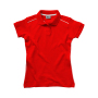 Backhand Ladies` Polo L Red/White