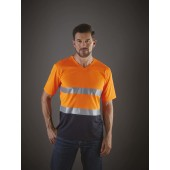 Top cool - hi-vis t-shirt v-hals