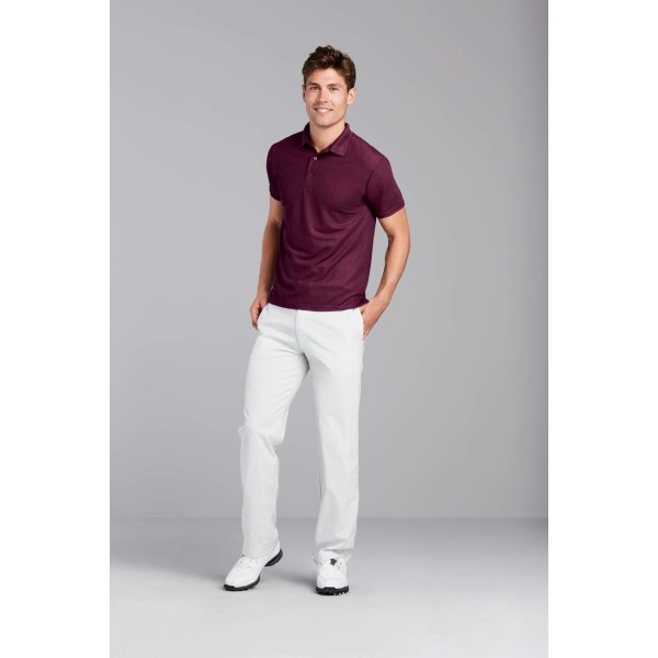 Gildan Polo Performance Double Pique SS for him