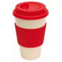 "coffee mug , 400ml red ""eco cup"""