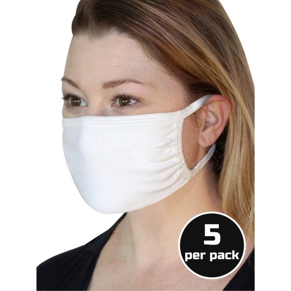 Fruit of the Loom Face Mask 5-pack