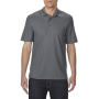 Gildan Polo Performance Double Pique SS for him charcoal S