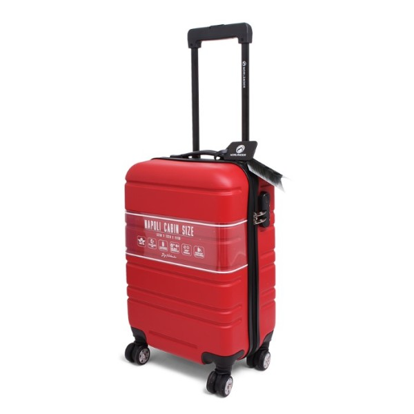 Cabin Size Trolley Napoli Red