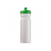 Bidon 750ml Full-Color druk wit / groen