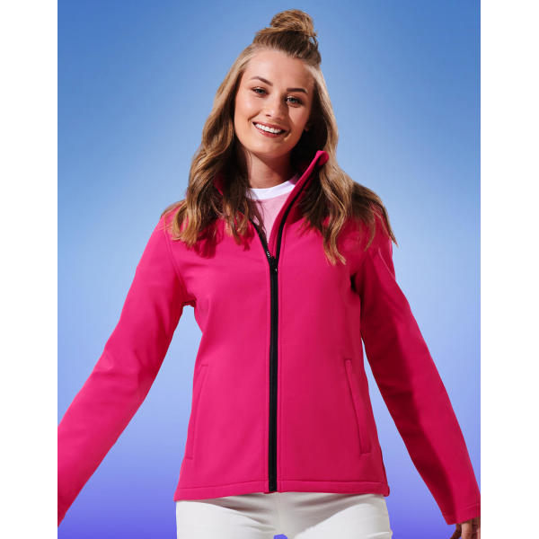 Women's Ablaze Printable Softshell