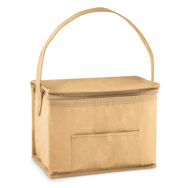 PAPERCOOL - 6 can woven paper cooler bag