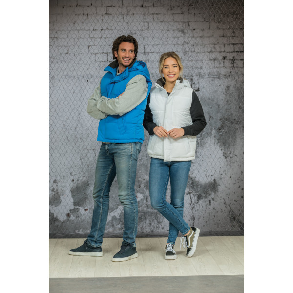 3795 Bodywarmer Hooded  unisex