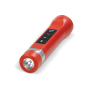 Powerbank 2200mAh, speaker 2W & zaklamp - Rood