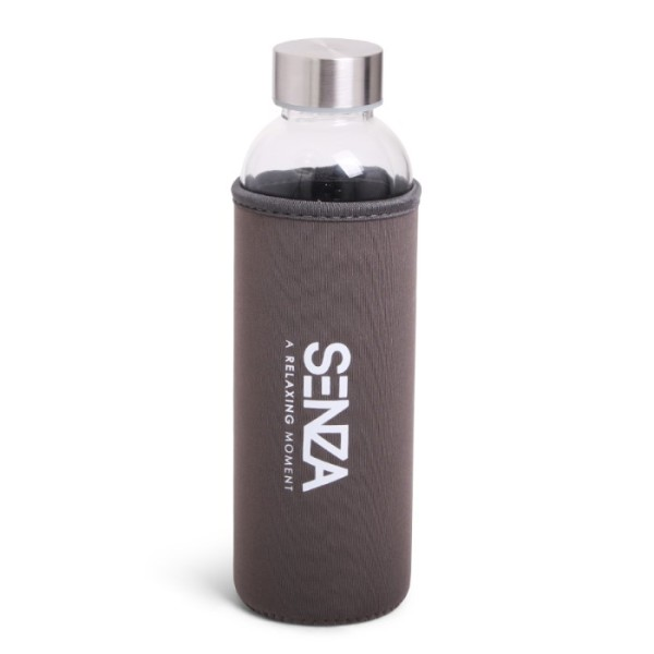 SENZA Drink Bottle Brown