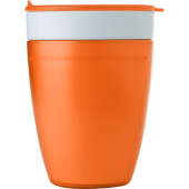 2-in-1 drinkbeker oranje