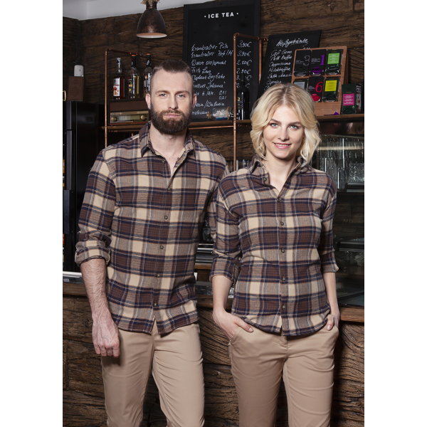 Men's Checked Shirt Urban-Trend
