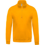 Sweater met ritshals