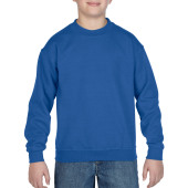 Gildan Sweater Crewneck HeavyBlend for kids Royal Blue XS