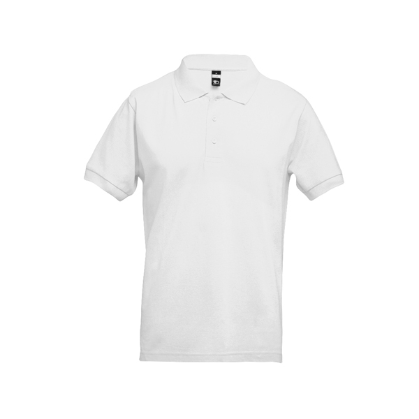 THC ADAM WH. Men's polo shirt