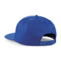 5 Panel Snapback Rapper Cap - Bright Royal