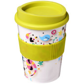 Brite Americano® Medio 300 ml beker met grip - Lime