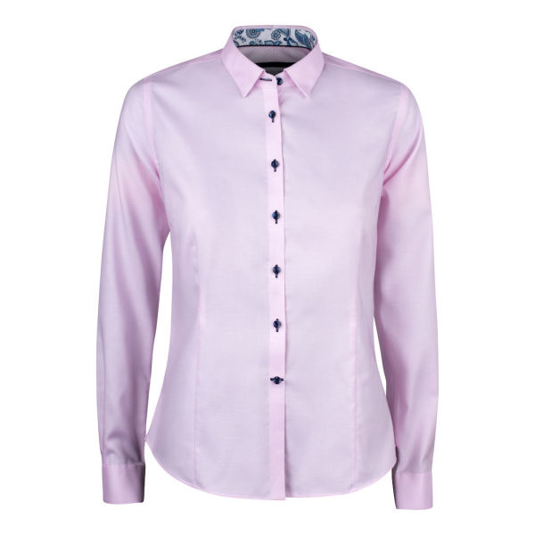 J. HARVEST & FROST PURPLE BOW 145 WOMAN SHIRT