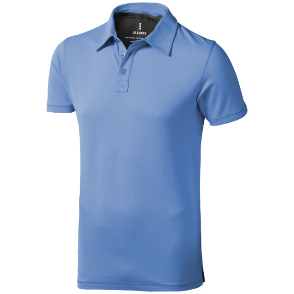 Markham stretch heren polo met korte mouwen