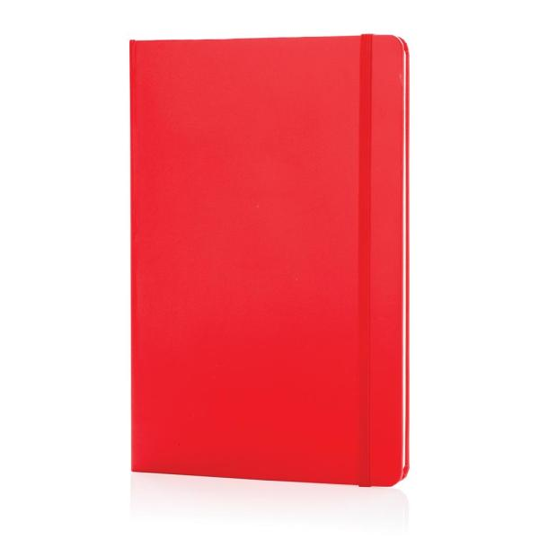 A5 basic hardcover notitieboek, roze
