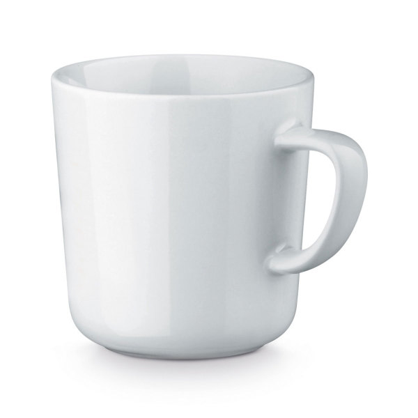 MOCCA WHITE. Ceramic mug 270 ml