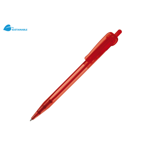 Balpen @-Pen Transparant transparant rood Transparant Rood