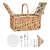 MIMBRE PLUS - 4-persoons rotan picknickmand
