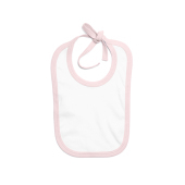 Baby Bib with Contrast Ties