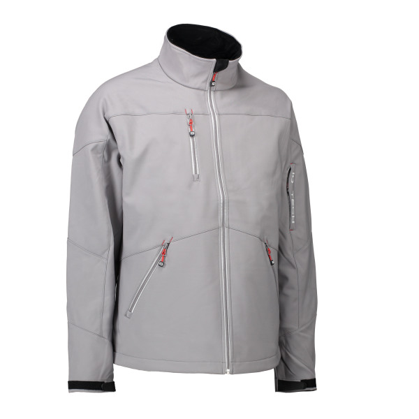 Men's soft shell jacket | contrast