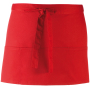 Colours' 3 pocket apro red one size