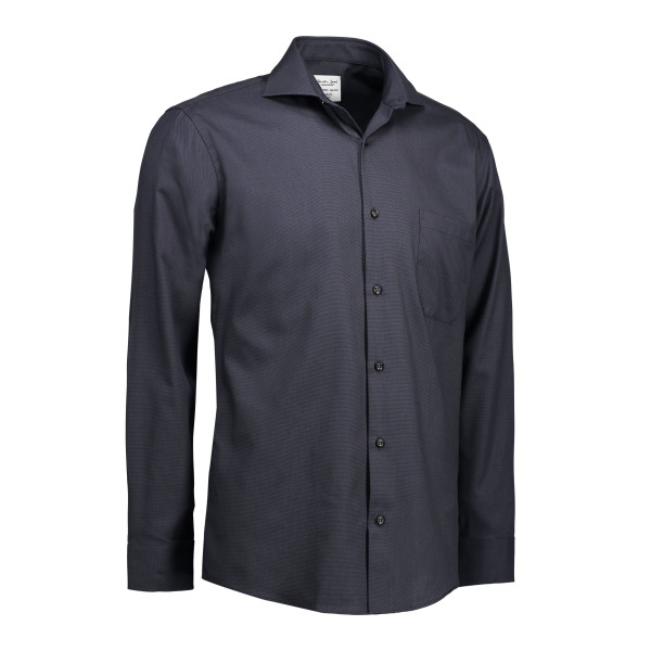 Dobby | Royal Oxford - Long Sleeve Modern Fit