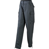 Ladies' Zip Off Pants - zwart