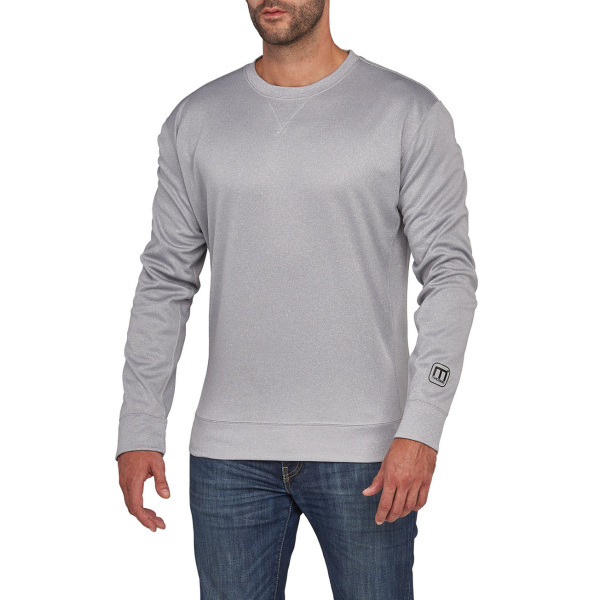 Macseis Sweater Crewneck Creator for him Grey Mel