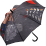 AC regular umbrella FARE®-Allover - design