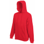 Premium Hooded Sweat, Red, XXL, FOL
