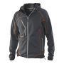 5152 Breathable Hood Jacket antracite/orange 3xl