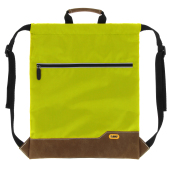 Drawstring Backpack BO apple green