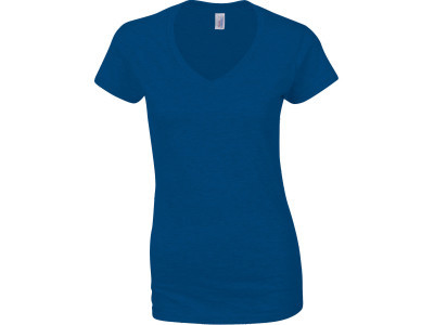 Softstyle® fitted ladies' v-neck t-shirt