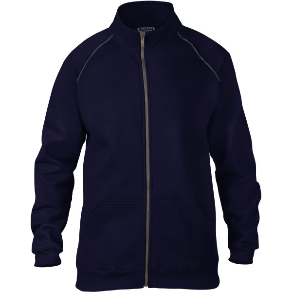Premium cotton ring spun adult full zip jacket